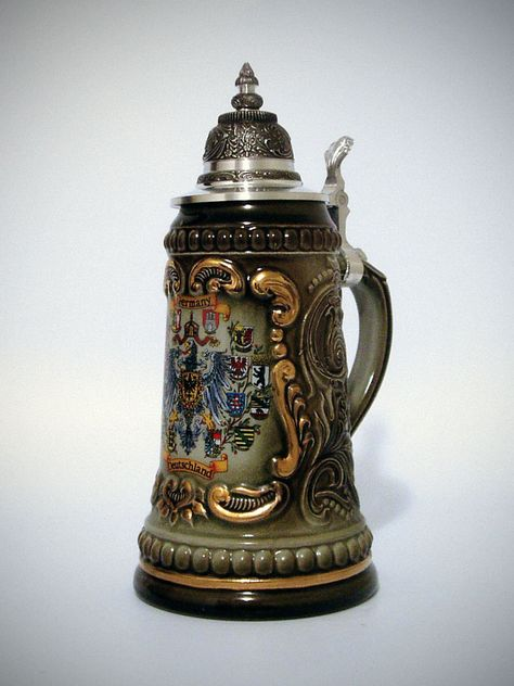 German Beer Stein...I think I'm gonna get one of these while I'm here too