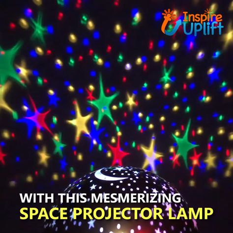 Space Projector Lamp 😍  Bring the starry, night sky right into your own home with this AWESOME Space Projector Lamp!  Currently 50% OFF with FREE Shipping!