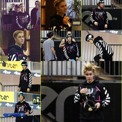 July 2 Justin At Monster Skate Park In Sydney Australia