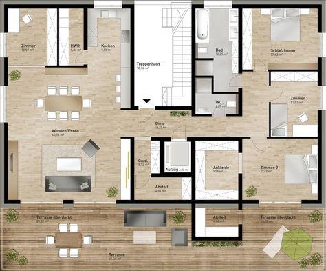 Schlafzimmer Mit Ankleidezimmer Grundriss Grundriss Wohnung Grundriss Penthouse