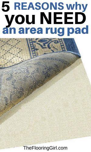 Best Area Rug Pad For Hardwood Floors Area Rug Pad Rug Pad