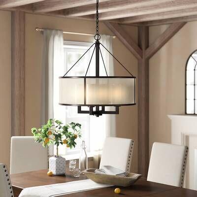 Claremore 4 Light Lantern Pendant Reviews Birch Lane In 2020 Dinning Room Lighting Dining Room Light Fixtures Dinning Room Light Fixture