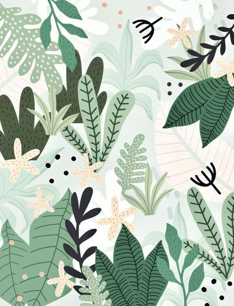 Into the Jungle II Wallpaper by Gale Switzer (galeswitzer) from €45.00 per m² | miPic