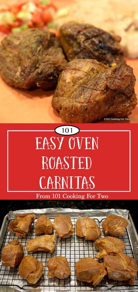 how to make carnitas in the oven