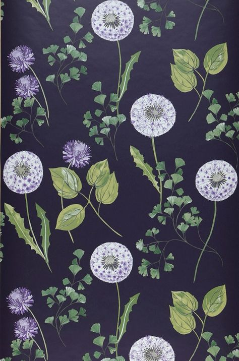Tauria   Floral wallpaper   Wallpaper patterns   Wallpaper from the 70s