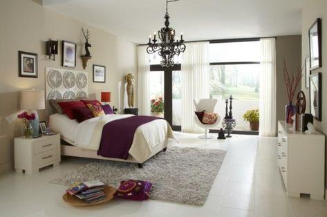 Beautiful Vintage Schlafzimmer Einrichten Verspielte Blumenmuster ...