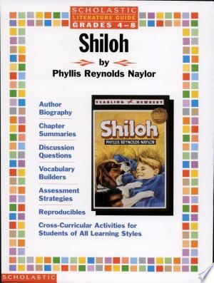 Shiloh Pdf Free In 2020 Scholastic Student Activities