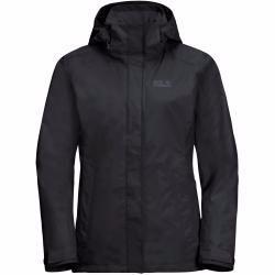 Jack Wolfskin W Seven Lakes Jacket Xs S M L Xl Xxl Schwarz Damen Jack Wolfskinjack Wolfskin In 2020 Jackets Athletic Jacket