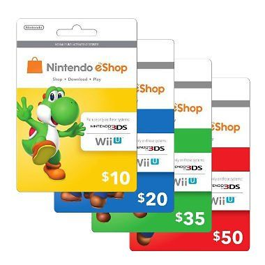 Pin by ElenaBarnhart on All Gift Card Offer | Nintendo eshop