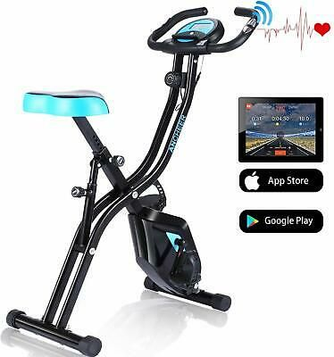Details About Ancheer 3 In 1 Folding Exercise Bike Cycle Indoor
