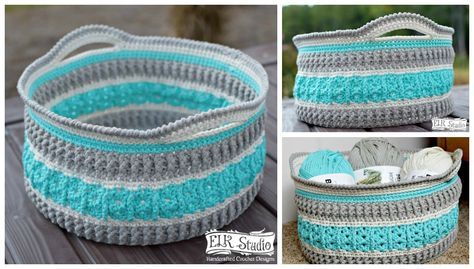 Get yourselves ready to crochet a fun and easy basket for our Christmas Present CAL Project! The Bernat Home Decor yarn easily slides through the hook and has great stitch definition. You'll love the vibrant color choices and how well it holds up in the basket! Be sure to scroll down….there is a surprise for …