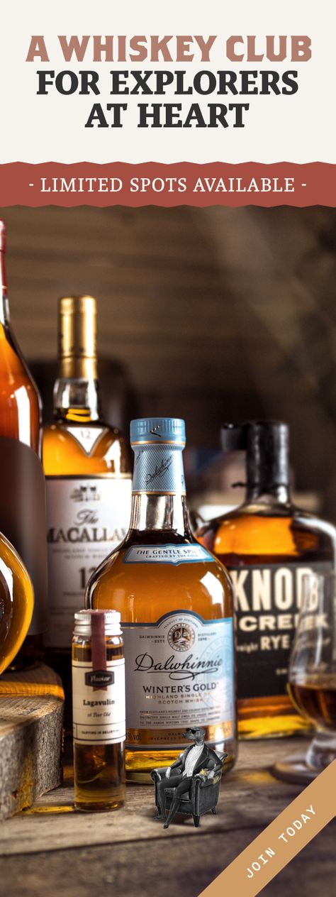 Whiskey Tasting boxes, Private bottlings and More than 15,000 Spirits. Join the Club!