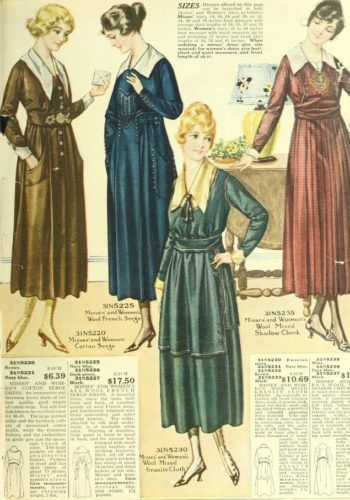 Fashion In 1918 Women And Men During Ww1 Fashion 1918 Fashion Old Dresses