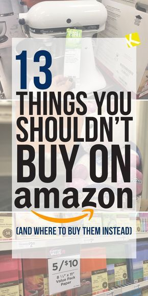 14 Things You Shouldn't Buy on Amazon (and Where to Buy Them Instead)