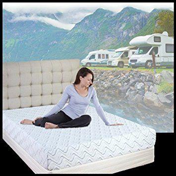 10 Inch Cool Gel Memory Foam Rv Mattress Short Queen 60x75x10 Inches Free Shipping Review Rv Mattress Mattress Best Platform Beds