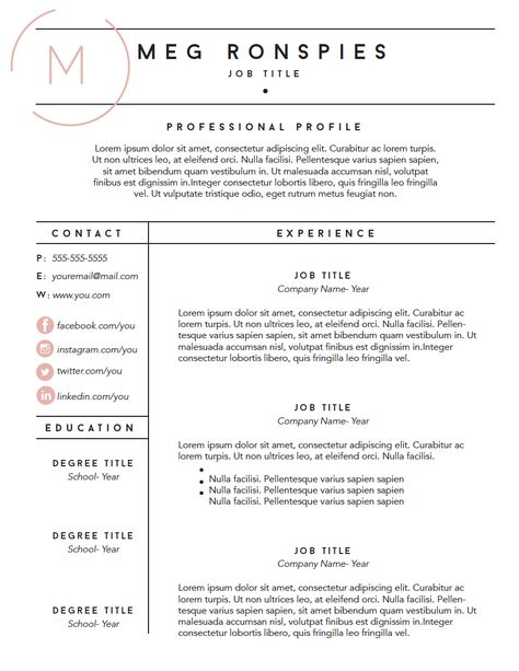 Free Fillable Resume Template Mpronspies Com Resume