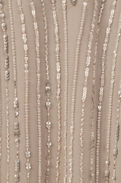 Fidelia Beaded Maxi Dress In 2020 Beaded Maxi Dress Handwork Embroidery Design Bead Work