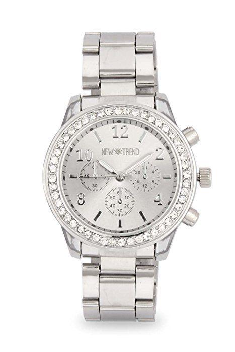 3732df74c2b26 Fashion Ladies Watch Wrist Watch Rhinestone Watch Color Silver ...