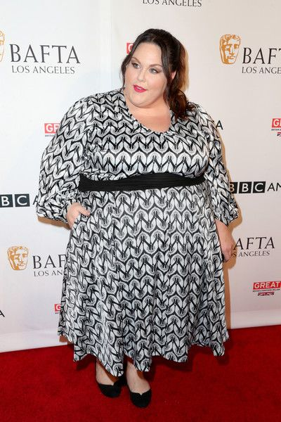 Bold Prints at BBC America BAFTA TV Tea Party - All the Times Chrissy Metz Slayed the Red Carpet - Photos