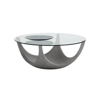 Belinda Coffee Table Coffee Table Round Coffee Table Modern Concrete Coffee Table