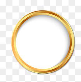 Golden Circle Png And Vector Ribbon Logo Golden Circle Circle