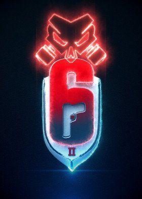 3d Outbreak Emblem Military Poster Print Metal Posters Rainbow
