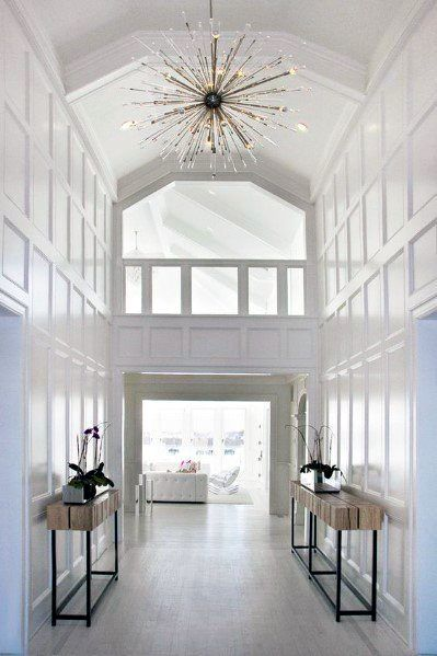 Top 40 Best Foyer Lighting Ideas