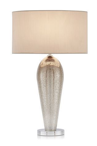 Champagne Ombre Glass Table Lamp Table Lamp Lamp Tall Table Lamps
