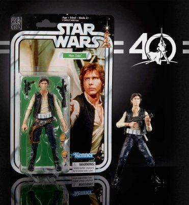 Star Wars 12 Han Solo A New Hope Collector Doll Figure MISB MIB NEW 2002