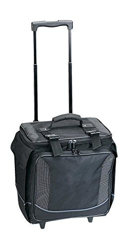 Travelwell Polyester Bottle Limo 12 Bottle Wine Case Tote Cooler With Wheel Organizer Black Check This Awesom Cooler With Wheels Best Wine Coolers Wine Case