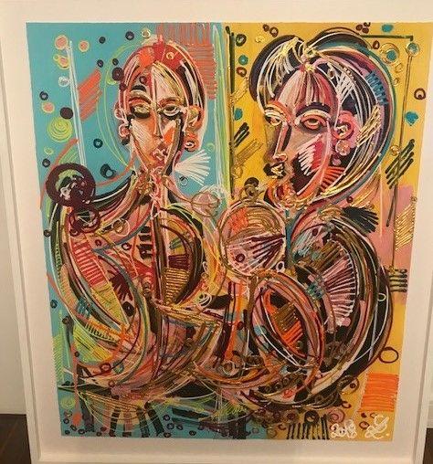 die galerie fur moderne kunst leon lowentraut kunstproduktion gemälde modern bilder