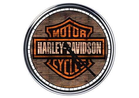 harley davidson clock uk