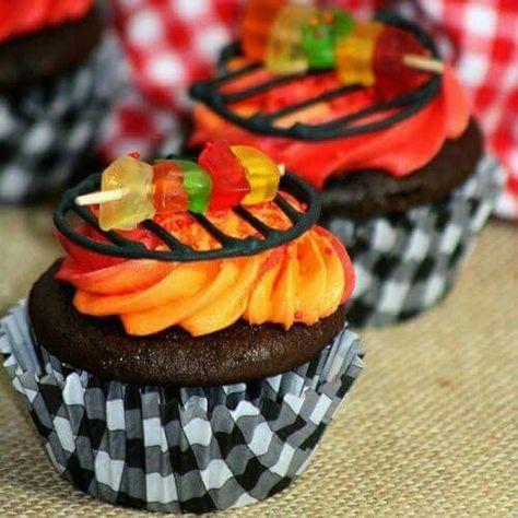 Cupcakes bbq