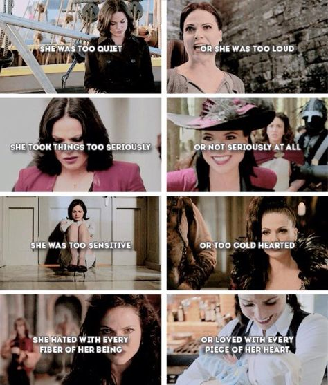 This is awesome. Such a great representation of who the Regina character truly is