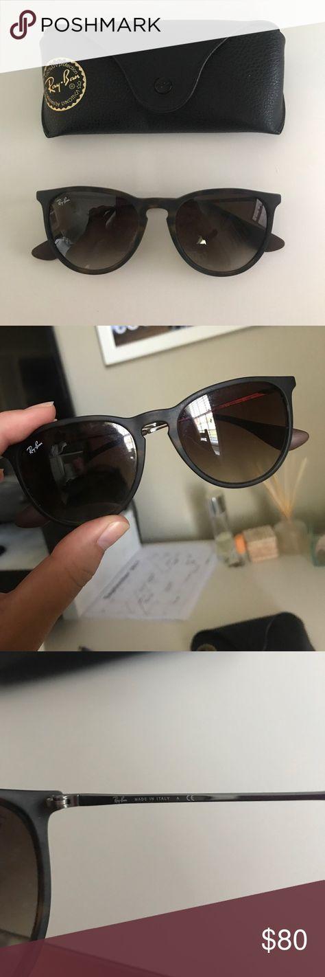e98be3f6de Ray Ban Erika Sunglasses brown tortoise erika sunglasses! super cute!!  hardly worn so