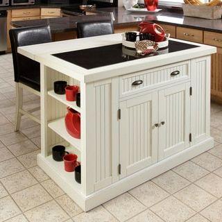 Gracewood Hollow Alleyn Black Distressed Oak Finish Kitchen