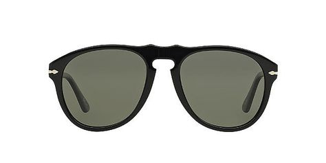3dc1bbd4c969c Persol  649 AVIATOR-STYLE BLACK SUNGLASSES