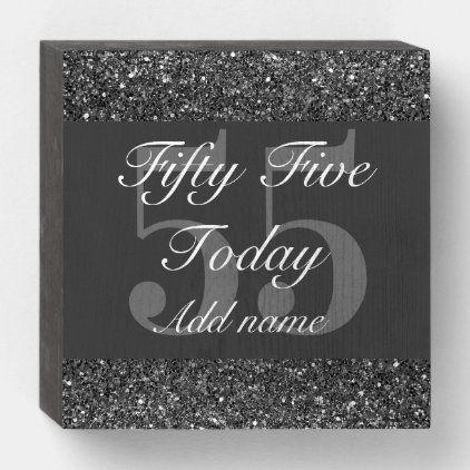 Personalised Glamorous Birthday Wall Art Box Zazzle Com In 2020 Birthday Wall Box Art Wall Art