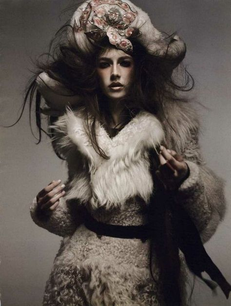 wool | fur | fashion editorial | glamour |