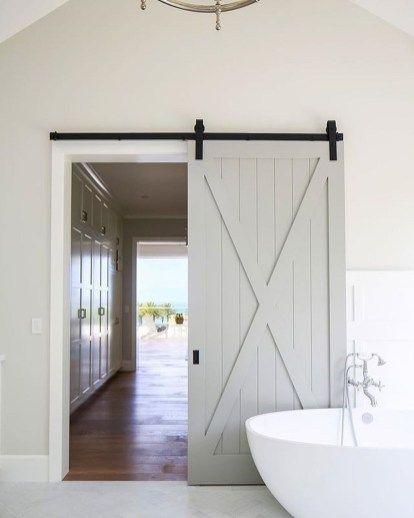 42 Inspiring Sliding Barn Door Ideas Barn Style Doors Interior Barn Doors Bathroom Barn Door