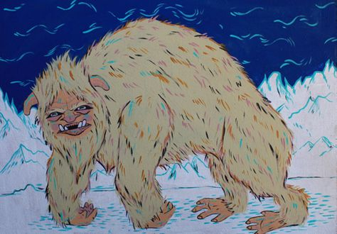 236. article about Sheepsquatch...a creature that supposedly roams the border between southwest Virginia and West Virginia.