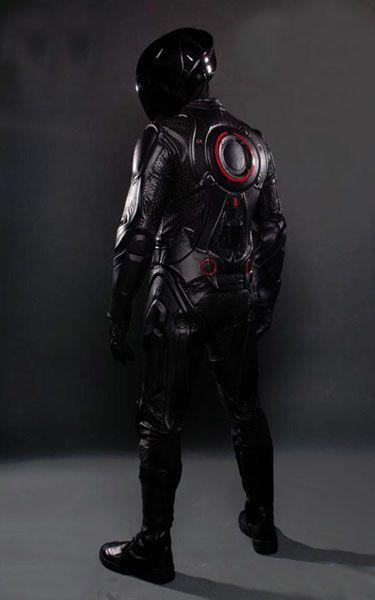 Tron Rinzler Light Sensitive Motorcycle Suits Helmets