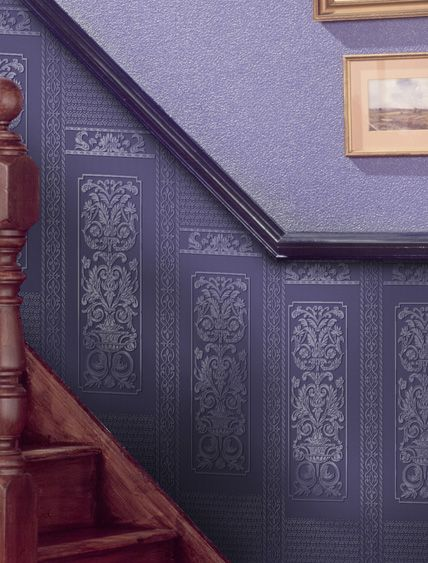 In Situ Photos Of Period Property Restorations Original Features Anaglypta Wallpaper Home Wallpaper Home