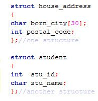 Easy It Nested Structure In C Language Structure In C Coding