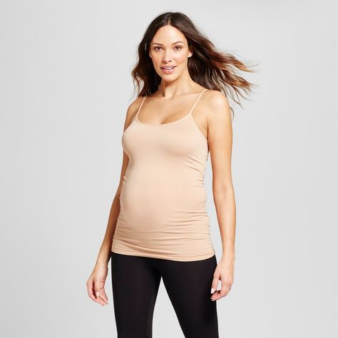 7fcce4208ac Maternity Seamless Cami - Isabel Maternity by Ingrid   Isabel Honey Beige  S M