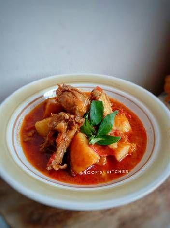 Resep Indian Chicken Curry Kari Ayam India Step By Step Oleh Noof S Kitchen Resep Makanan Kari Ayam Chapati