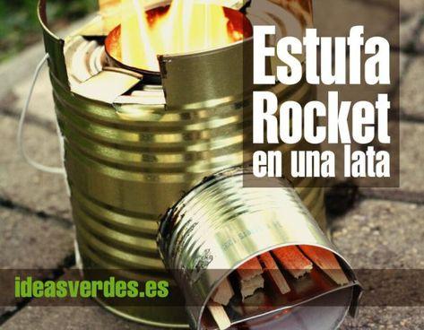 Como Construir Una Estufa Rocket Casera Estufas Estufas Rocket