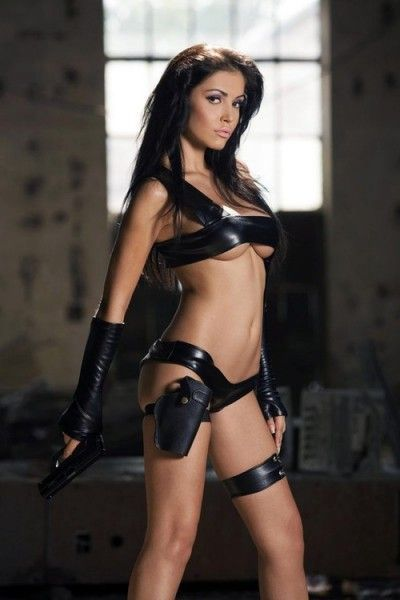 Hot chick bondage