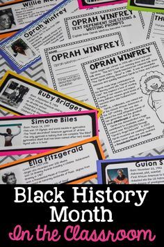 Black History Month- Resources, Freebies & Videos for Primary Classrooms - Sunny and Bright in Primary