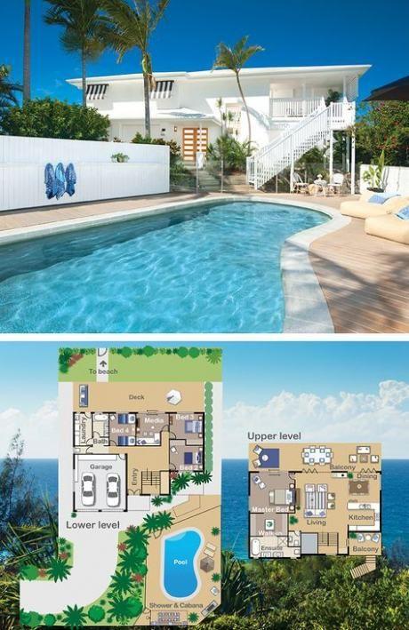 50 Trendy House Beach Small Floor Plans Denah Rumah Rumah Besar Arsitektur
